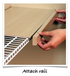 Easy Install : Renew, Shelf Covers For Wire Shelves