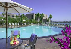 Bayside Pool The Dana Hotel On Mission Bay By Via Flickr