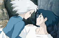 """""""Your hair, it's like starlight. It's beautiful.""""  """"You think so? SO DO I!"""" ^-^ I love them!"""