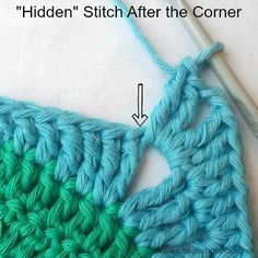 How to Crochet Corners and Identify That Elusive Hidden Stitch #crochettutorial #crochettip | Look at What I Made