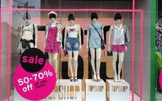 >>>Cheap Sale OFF! Topshop Style, Topshop Fashion, Clothing Displays, Topshop Unique, Retail Merchandising, Visual Display, Shop Interiors, Window Design, Boutique