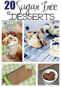 These 20 Sugar Free Desserts are perfect for your next party, potluck or weekend barbecue with friends!