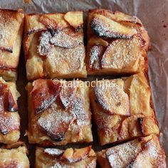 A creamy apple pie to start over · Italianchips My Recipes, Sweet Recipes, Cookie Recipes, Dessert Recipes, Favorite Recipes, Dessert Ideas, Italian Desserts, Just Desserts, Italian Recipes