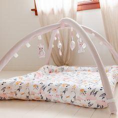 ♡ Activity Mat - Flora - Ready to ship ♡ Flora Print, Activity Mat, Sensory Toys, Toddler Bed, Nursery, Comfy, Ship, Flooring, Activities