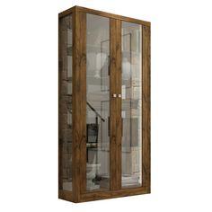 Cristaleira Dalla Costa com 2 Portas de Vidro - TC604