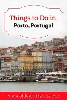 Porto is a short train ride away from Lisbon nestled along the Douro River. While in Porto, you'll want to check out the beautiful architecture, eat some tasty Portuguese food, and enjoy the water. This post will tell you where to find the hidden gems so you can get the most out of your trip to Porto, Portugal. Don't forget to save this to your travel board! Porto, Portugal | Porto guide | things to do in Porto | Portugal guide |