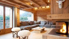 Style to Steal: Ski Lodges! Check out these three fresh spins on slope-side design. All nestled in the French Alps, this trio of cozy residences defines the mountain-side design we're coveting in these colder months, and turn the notion of frumpy lodge living on its head.