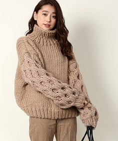 I Love Mr Mittens, Thick Sweaters, Knit Picks, Knitting Designs, Sweater Outfits, Knit Patterns, Autumn Winter Fashion, Beautiful Outfits, Pullover Sweaters