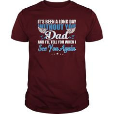 ITS TIME A LONG DAY WITHOUT YOU DAD T SHIRT 2, Order HERE ==> https://www.sunfrog.com/Birth-Years/126032652-745482000.html?58114, Please tag & share with your friends who would love it , #jeepsafari #xmasgifts #renegadelife