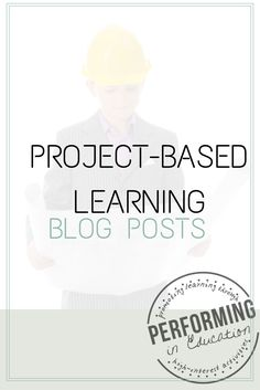 Blog posts about project-based learning... I love all the pictures from PBL in her classroom!