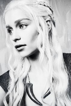 Emilia Clarke as Khaleesi Daenerys Stormborn from Game Of Thrones
