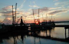 Photographs of old Beaufort, South Carolina