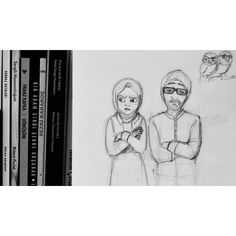 """Vol3 Bir de burada çekem  #illustration #watercolor #suluboya #girl #drawing #sketch #sketchbook #doodle #ciziyorum #sketching #colors #color #instaart…"""
