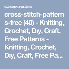cross-stitch-patterns-free (40) - Knitting, Crochet, Dıy, Craft, Free Patterns - Knitting, Crochet, Dıy, Craft, Free Patterns