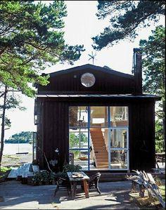 Nautical Bohemian: A Swedish Cabin