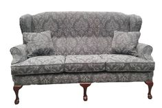 Queen Anne 3 Seater in Dagano Fabric Range Love Seat, Seater, Corner Sofa, Furniture Ireland, Sofas, Chair, Footstool, Upholstered Sofa, Furniture