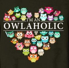 Owl a holic Owl Always Love You, My Love, Owl Quotes, Fact Quotes, Owl Sayings, Motifs Animal, Owl Pictures, Owl Punch, Punch Art