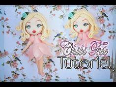 Doll, polymer Clay - Chibi fimo, tutoriel, Fée - YouTube