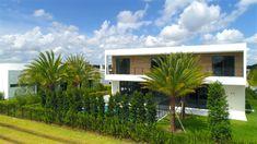 Botaniko Weston Model Home 04 Weston Florida, Architectural Animation, Postmodernism, Model Homes, Modern House Design, Luxury Homes, Pergola, Post Modern, Outdoor Structures