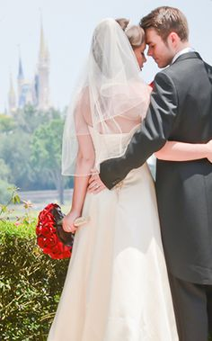 Real Wedding Spotlight: Rebecca & MatthewEver After Blog | Disney Fairy Tale Weddings and Honeymoon