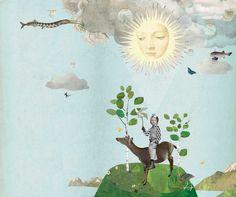 Collage work by Corinna Staffe.