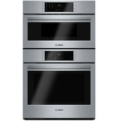 Bosch Self-Cleaning Convection Microwave Wall Oven Combo (Steel-Stainless) (Common: 30-in; Actual 29.75-in)