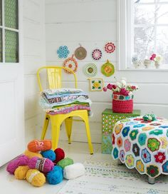 amazing blanket  African flowers   colors combination