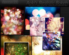 aoki's realistic bokeh 2. by h0ttiee.deviantart.com on @deviantART