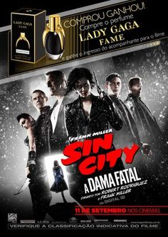 Lady Gaga Perfumes e Sin City – A Dama Fatal