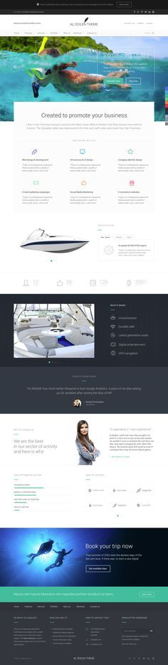 Love this website style - follows in the iOS7 design principles footsteps and is super clean and beautifully laid out :)