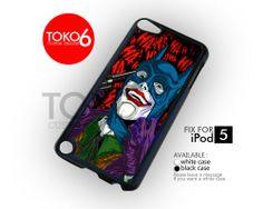 AJ 3873 Joker With Batman Mask - iPod 5 Case | toko6 - Accessories on ArtFire