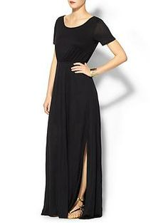 Gotta love me some sleeve action - Colette Open Back Loose Maxi Dress   Piperlime