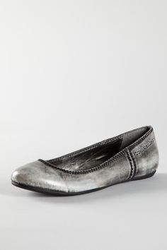 Maybe?  CK Jeans  Bailey Brushed Kid Leather Flat   X  $25.00