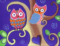 Need to make owl painting