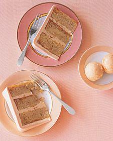 Peaches-and-Cream Ice Cream Recipe -- a pretty palette for a Valentine's Day dessert