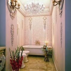 Podría ser el baño de María Antonieta...o el mio