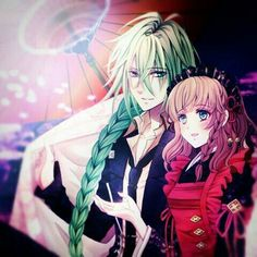 Ukyo and Heroine.