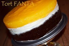 Tort Fanta - RETETE DUKAN Blood Type Diet, Dukan Diet, Deli, Healthy Eating, Pudding, Healthy Recipes, Fruit, Vegetables, Desserts