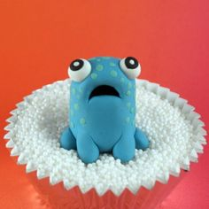 monster cake topper ore made with FIMO