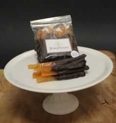 Josophan's Orangettes - Candied orange peel dipped in dark chocolate