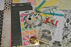 Introducing the July 2012 Monthly Scrapbook Kit from Little Black Dress Kit Club: It's My Party