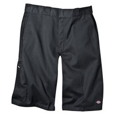 Dickies Men's Loose Fit Twill 13 Multi-Pocket Work Shorts- Charcoal (Grey) 42