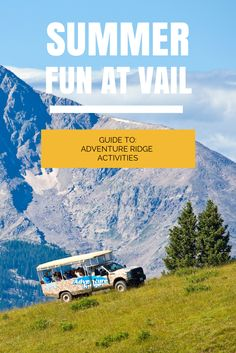 Everything families need to know about Adventure Ridge at #Vail Resort: times, cost, and activities for kids! #vail