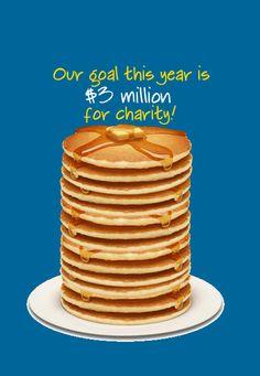 IHOP National Pancake Day - February 5, 2013