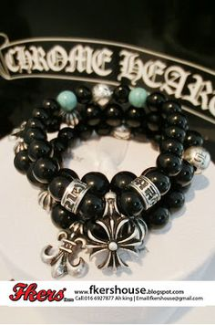 7bb5f25a300 Fkers  Chrome Hearts Bracelet Series 1