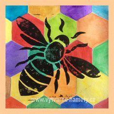 Včela – tisk