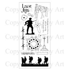 This is the brand new set from the Sharon Bennett Collection at Hobby Art. Commemorating 100 years since the First World War. Clear set consists of 15 stamps <br /> <br /> New Set, Clear Stamps, First World, Poppies, Cards, Basket, Craft Ideas, Shopping, Collection