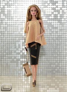 TOUCHLO - OOAK OUTFIT, SHOES FOR FASHION ROYALTY, FR2, COLOUR INFUSION (25)