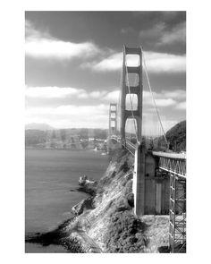 Golden Gate Bridge Photographic Print by Keith Reicher at Art.com