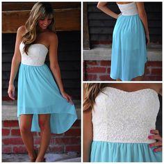 Pretty dress<3 maybe for wedding?